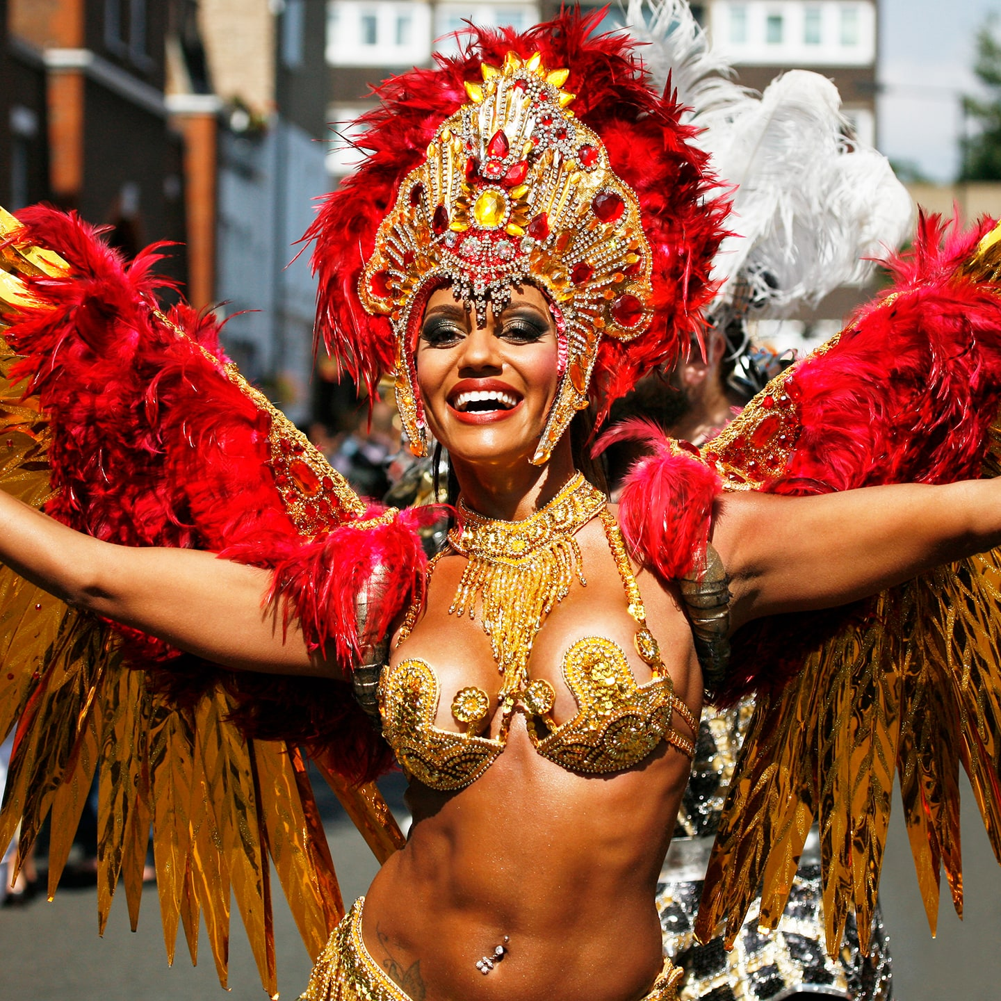 Carnaval in Notting Hill - Londen