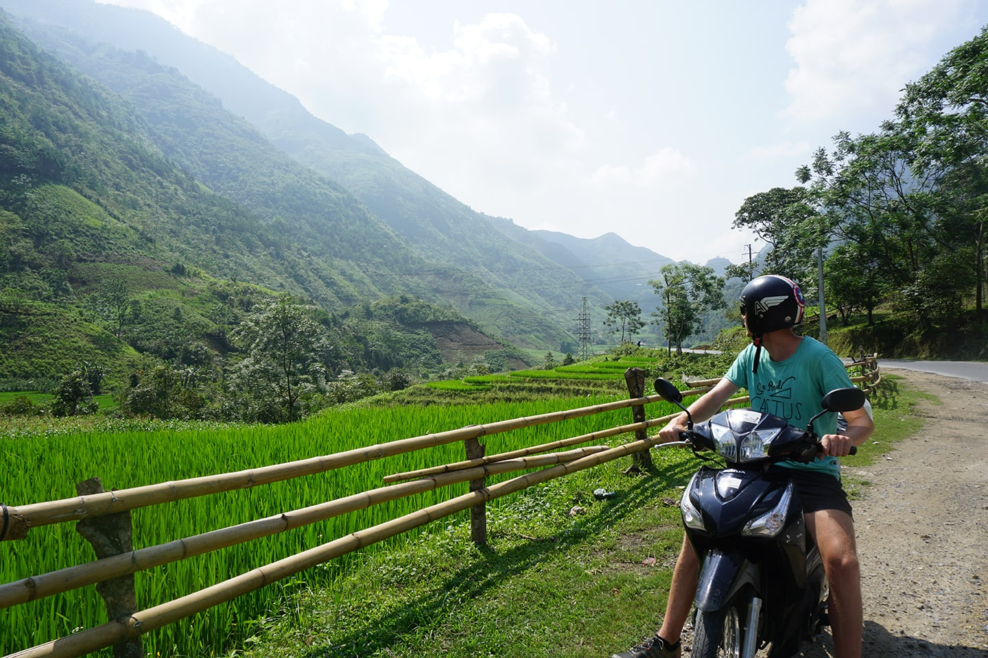 Scooter huren in Ha Giang