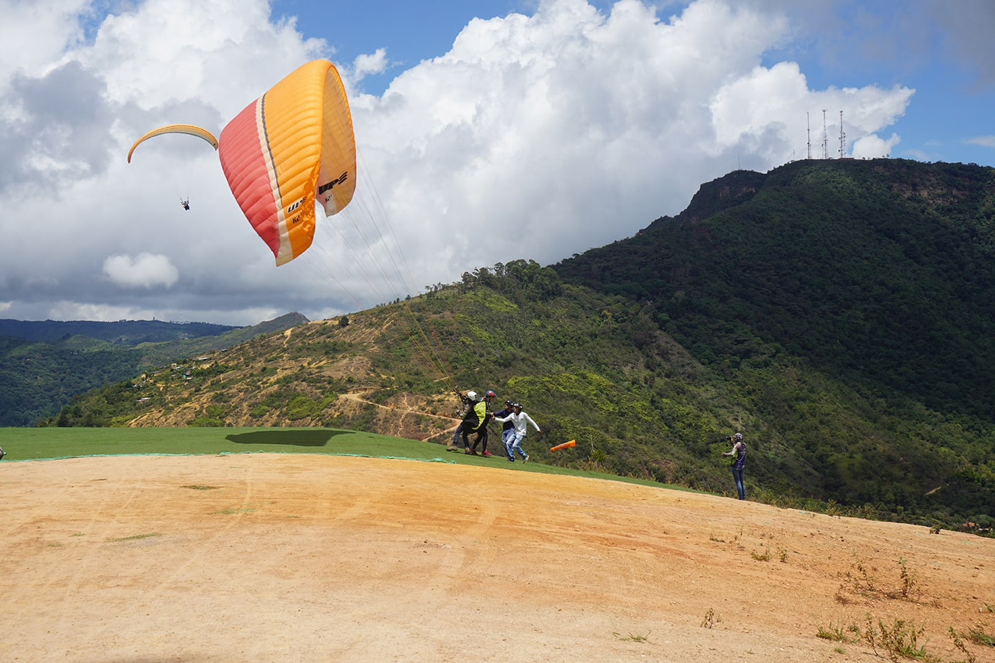 Paragliden Chicamocha Canyon