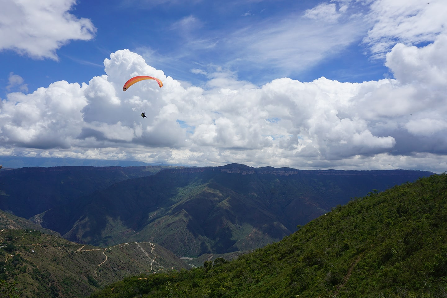 Paragliding Chicamocha Canyon - Colombia