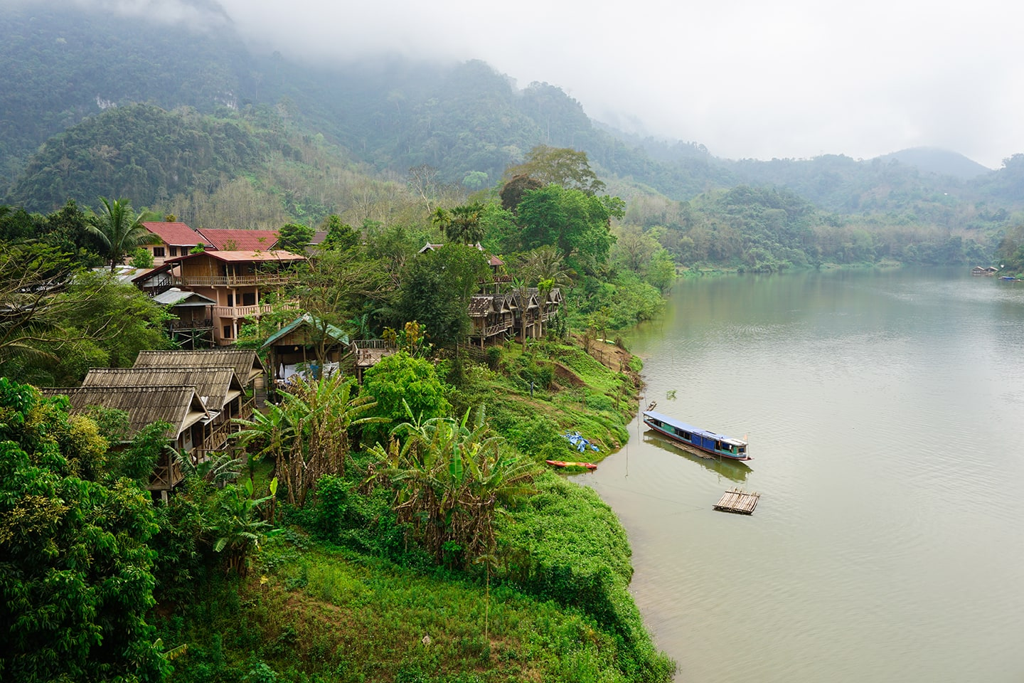Nong Khiaw - backpacken in Laos