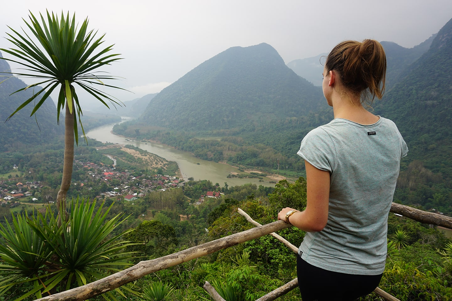 Phanoi Viewpoint in Muang Ngoi