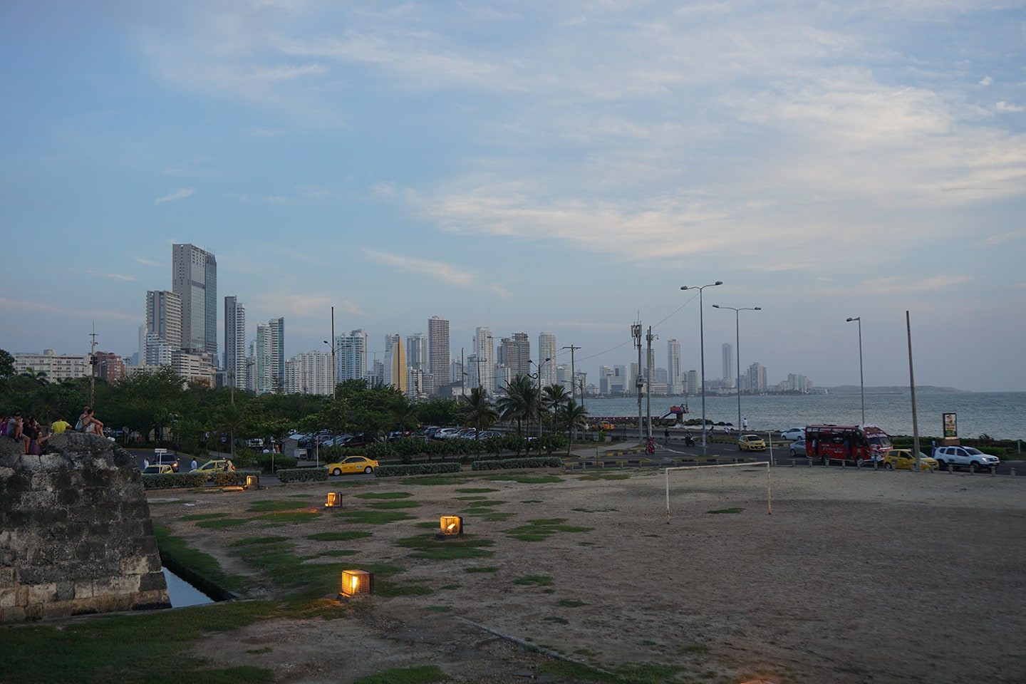 Bocagrande - Cartagena in Colombia