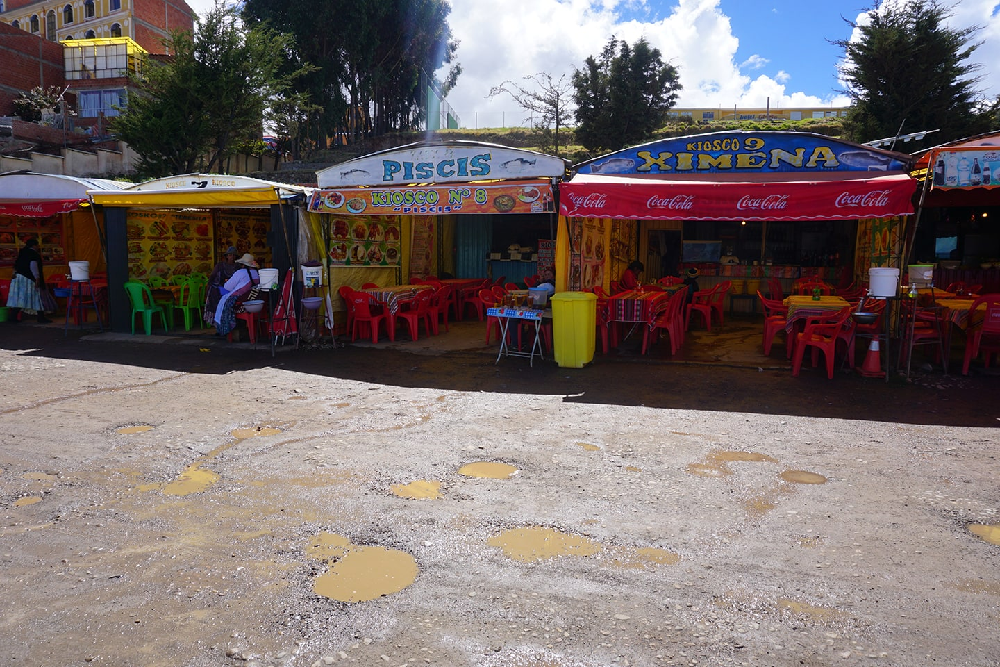 Verse vis eten in Copacabana - tips Titicacameer in Bolivia