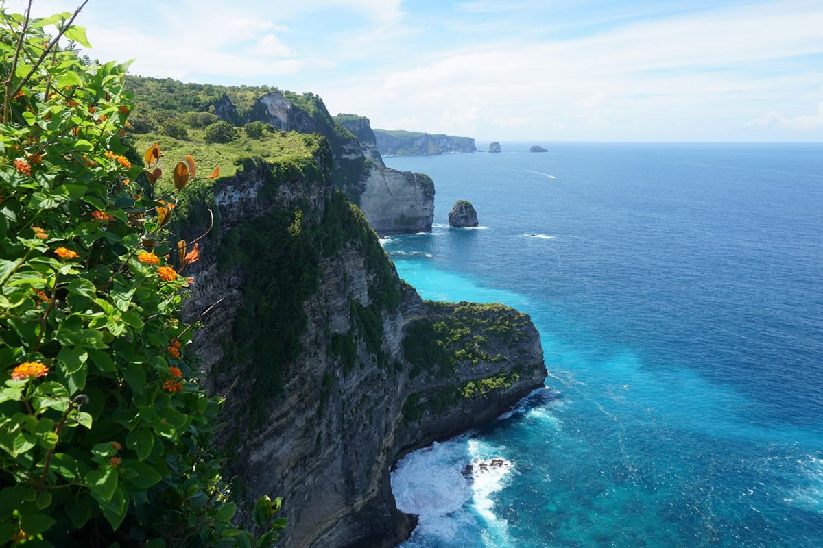 Banah Cliff Point - highlights Nusa Penida