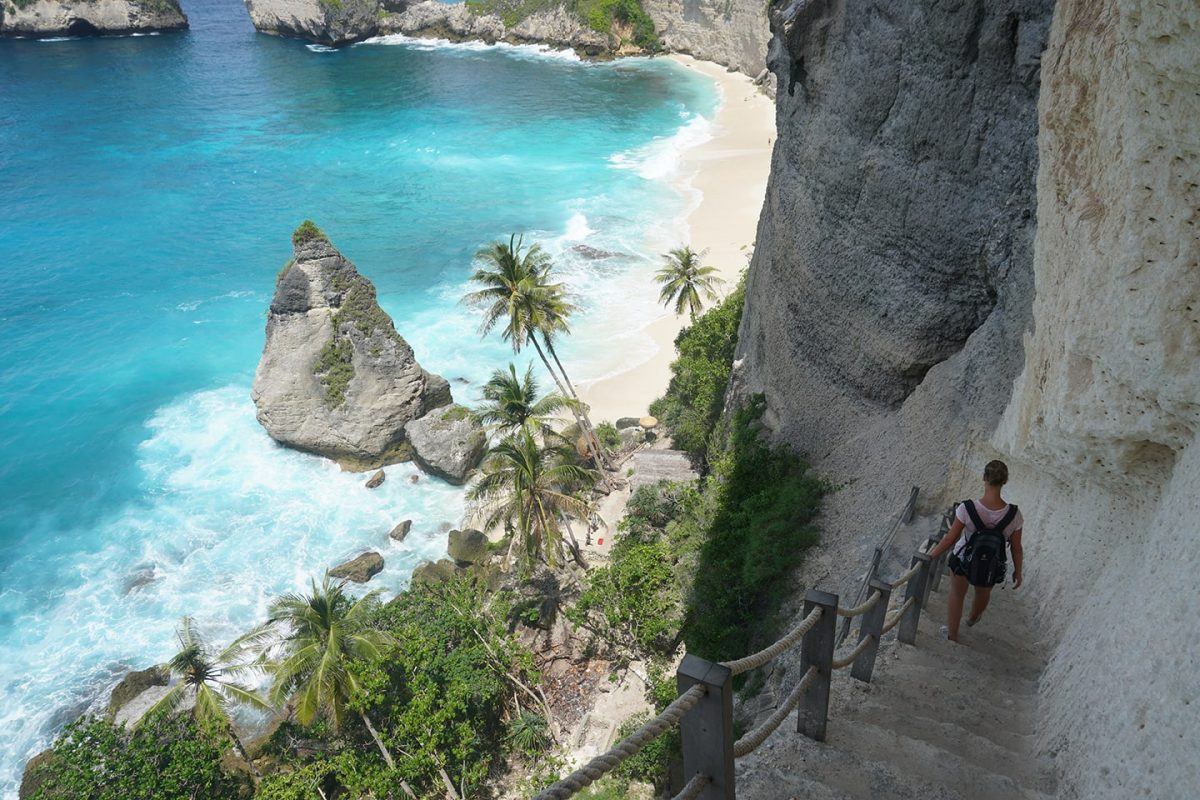 Diamond Beach bezoeken - Nusa Penida tips