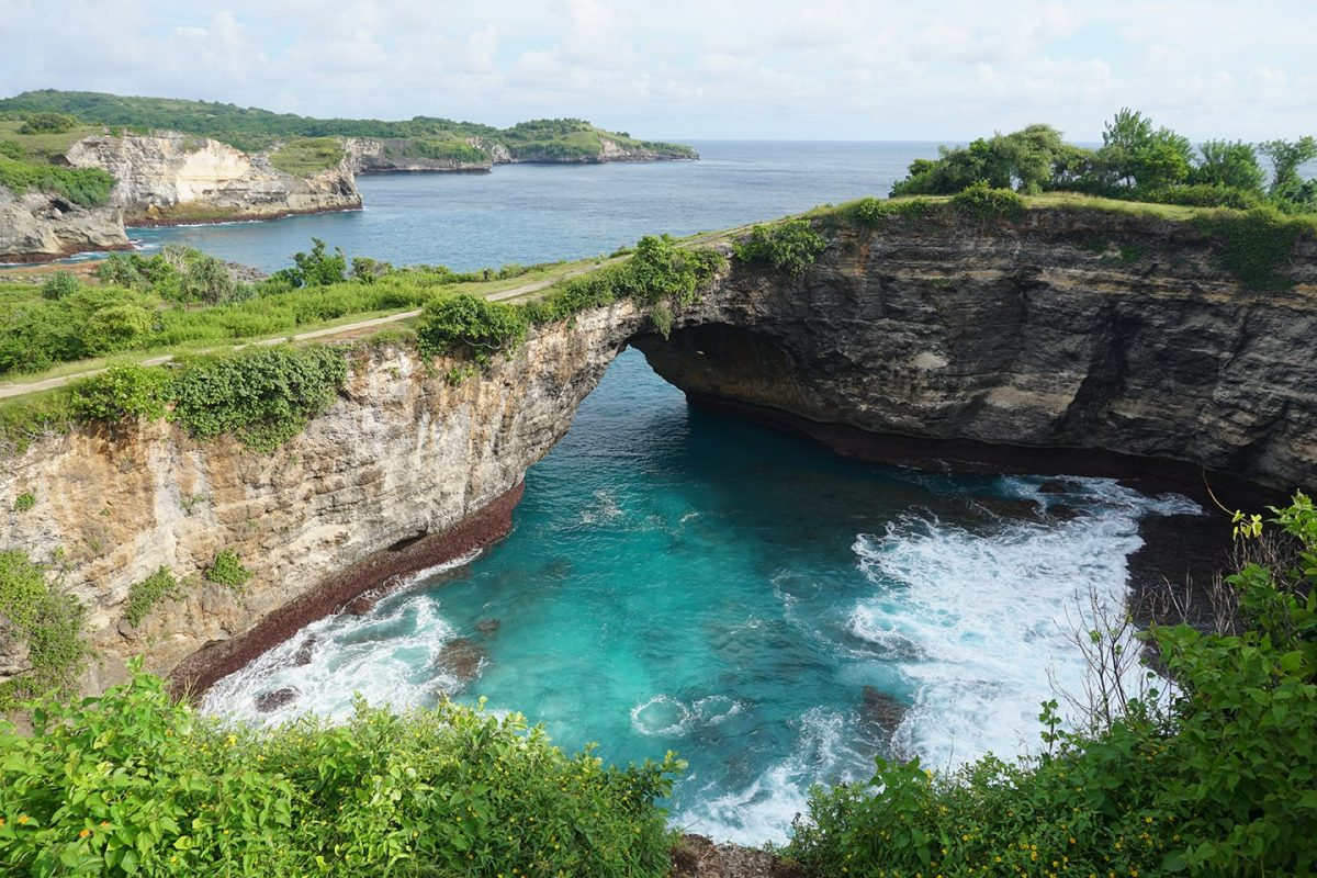 Broken Beach - bezienswaardigheden Nusa Penida - tips Indonesië