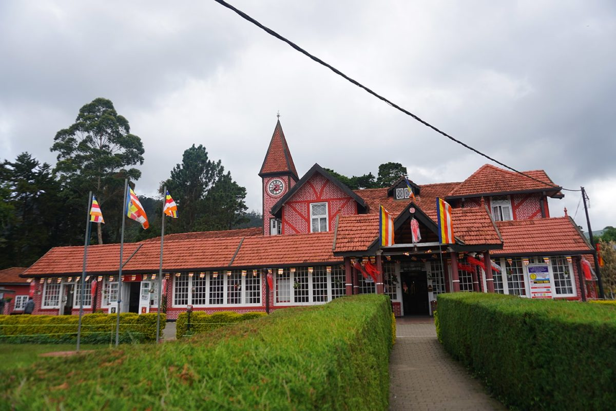 Post Office in Nuwara Eliya in Sri Lanka